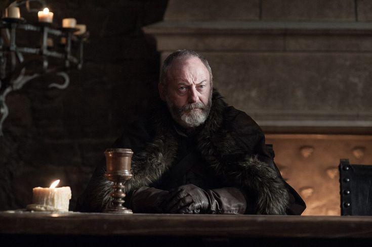 Davos Seaworth (Liam Cunningham) in Winterfell / Photo: Helen Sloan/HBO