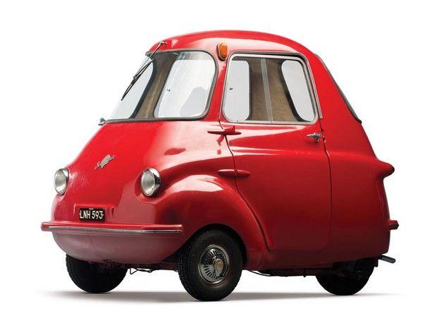 1959 Scootacar Mk I 200 Microcar I would feel like I was in a cartoon in one of these. I want it! It's so cute!-j