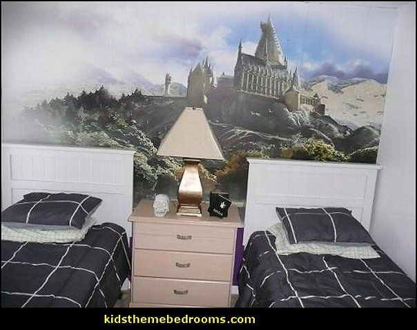 Fun  unique and creative theme bedroom design ideas for kids  teens and  adults  Decorating theme bedrooms   Maries Manor  Harry Potter  Wallpaper  Mural. 17 Best images about Harry potter on Pinterest   Photographs