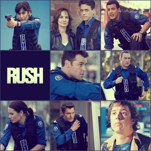 RUSH TV SHOW | Rush Australian TV Series Rush cast 'collage'