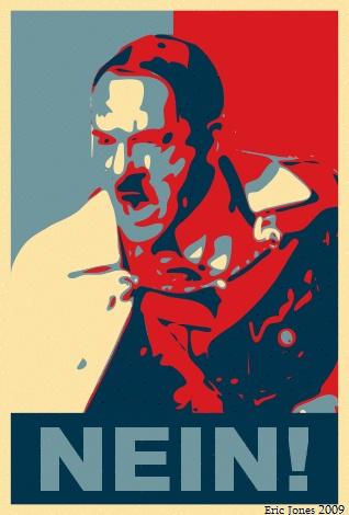 Hitler Nein Poster