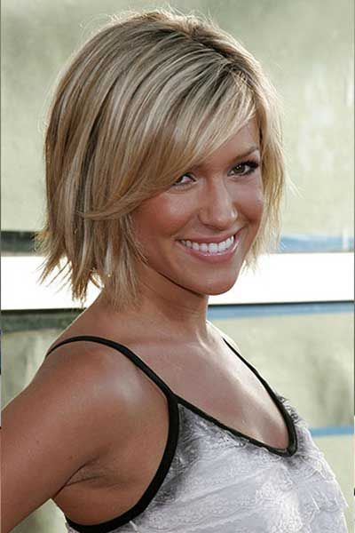 haircuts with choppy ends and side fringe