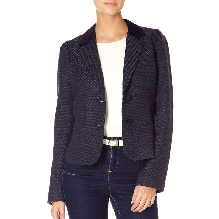 Texas Riding Blazer Navy | Fever London