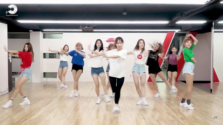 GOODDAY Rolly dance practice (mirror)