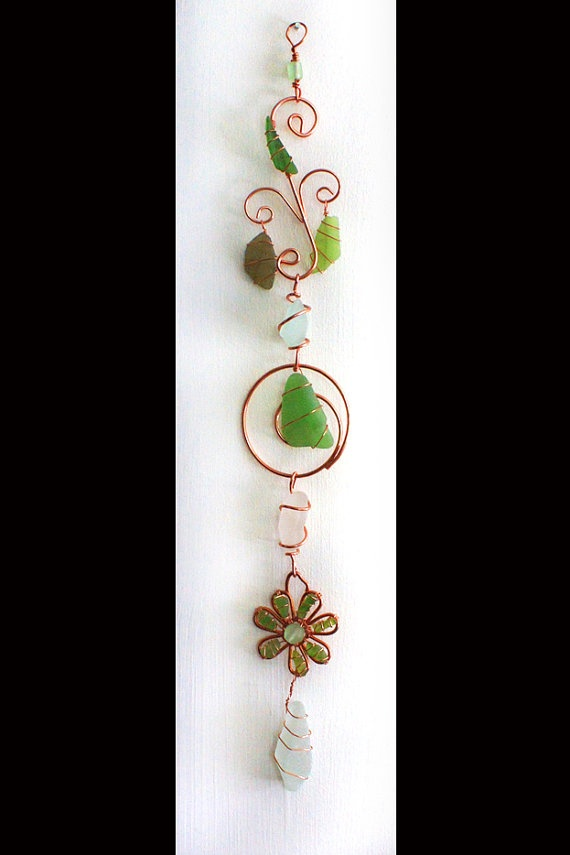 RESERVED For Jenjoost Star Sea Glass Ornament In