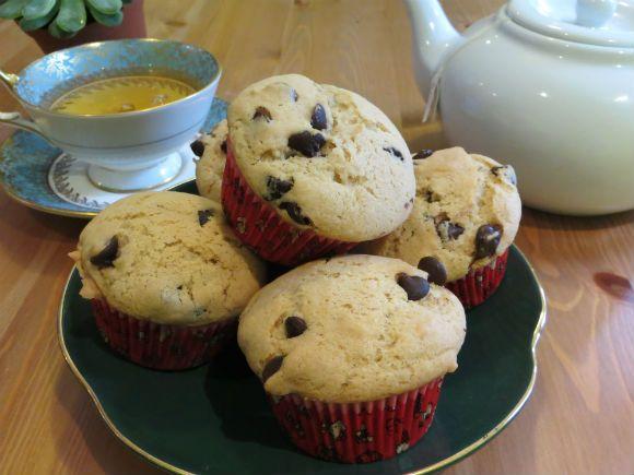 Basically Dessert for Breakfast Chocolate Chip Muffins