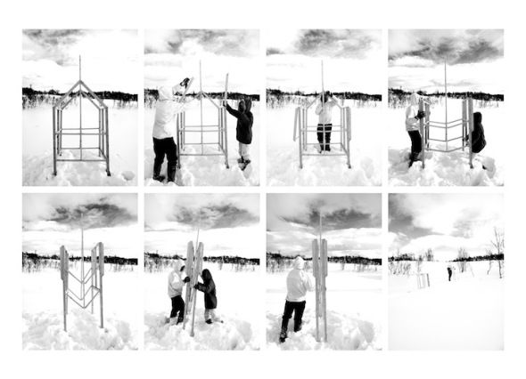 Arquitectura portátil hecha de hielo. Gartnerfuglen - Noticias de Arquitectura - Buscador de Arquitectura