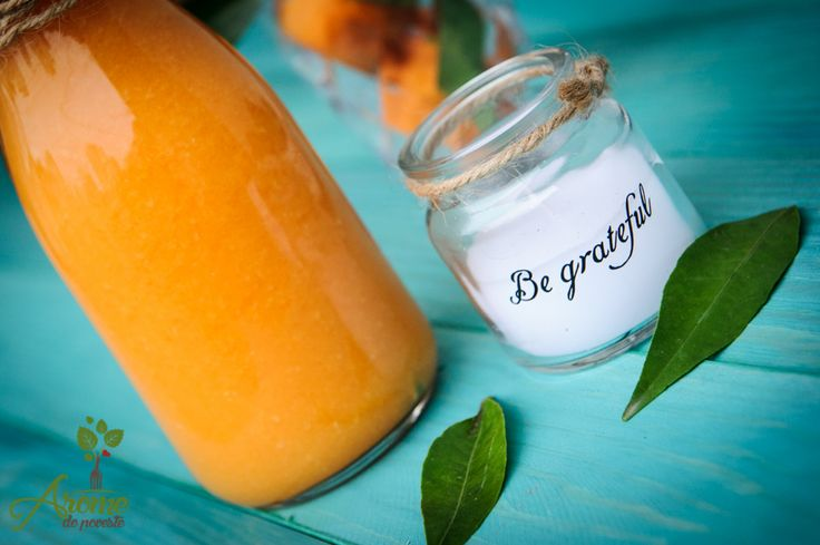 Suc de portocale ghimbir