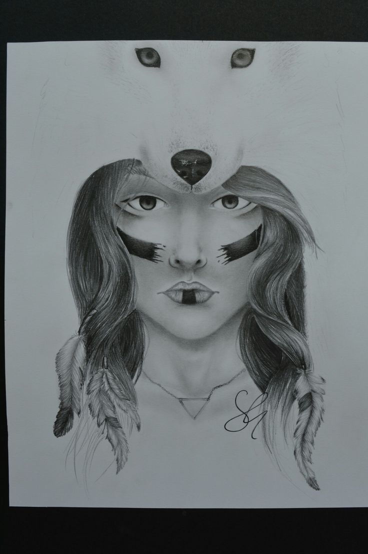 I won a contest thanks to this work #traditionalart #art #draw #drawing #illustrationoftheday #illustration # #pensil #wolf #blackandwhite #wolfgirl #girl #face