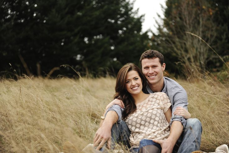 Rustic Barn Engagement Shoot: Wheat Fields, Hay Bails