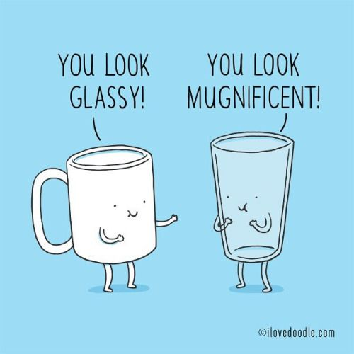 Glass vs Mug