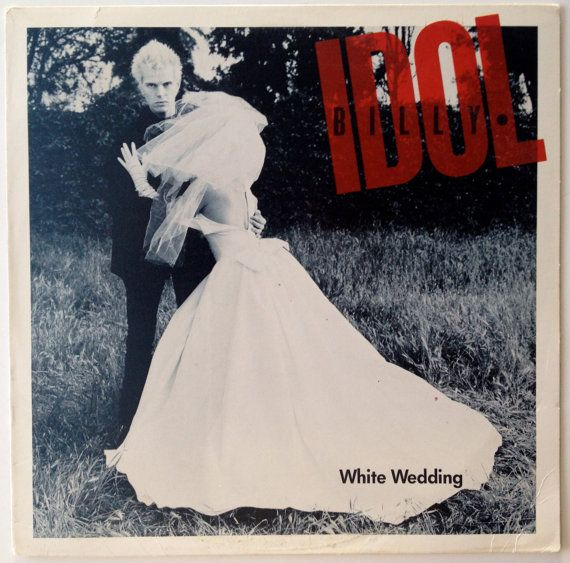 Billy Idol White Wedding Vinyl Record 12 Single Chrysalis 4v9 42685