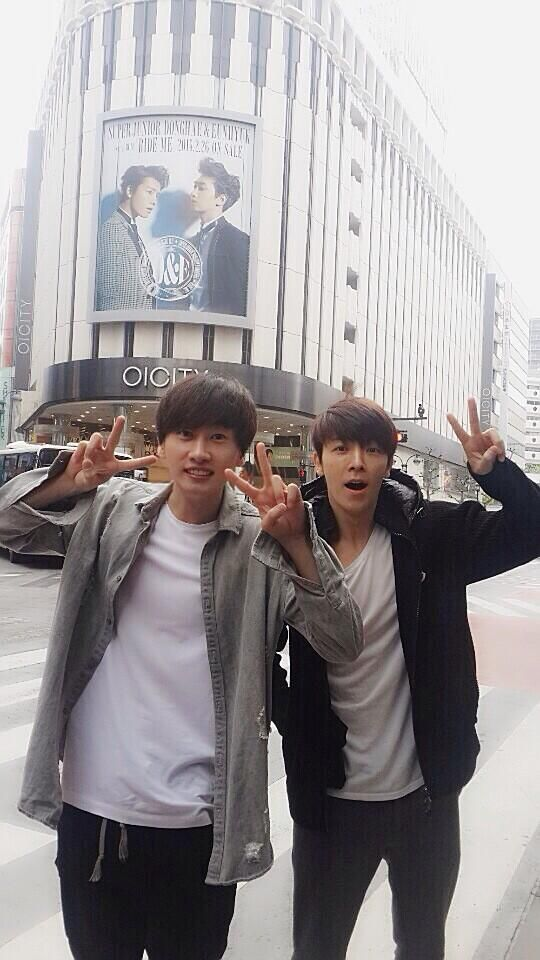 Eunhyuk and Donghae are by far my favorite duet group because it's not only the my ultimate OTP but they're just perfect.
