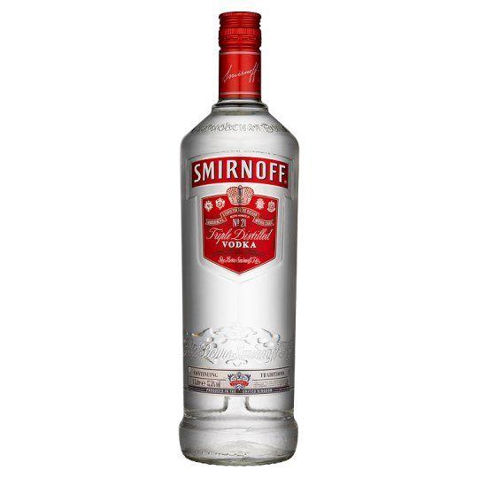 Smirnoff Red Label Vodka 1 Litre - Groceries - Tesco Groceries - £15.00