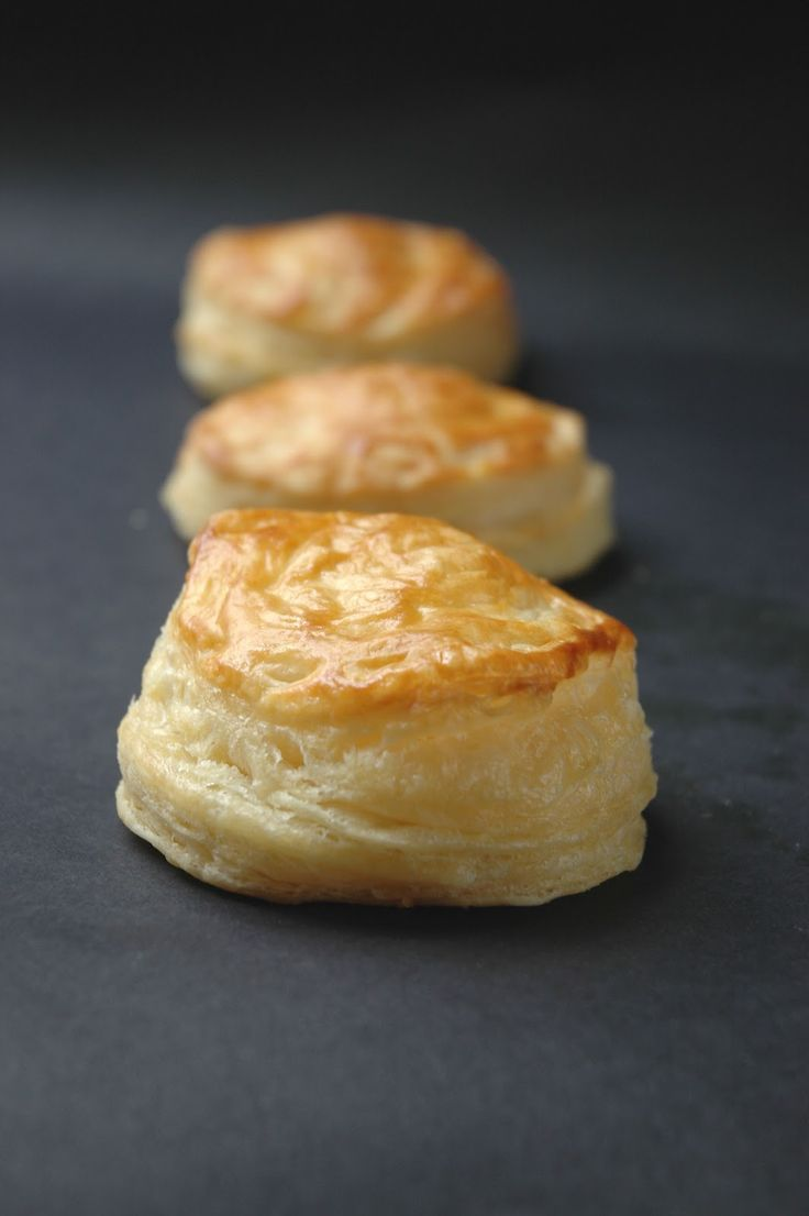 Homemade Puff Pastry On Rsg Easy Pastry Recipes Easy