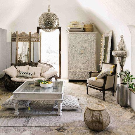 Armchair in linen Casanova | Maisons du Monde