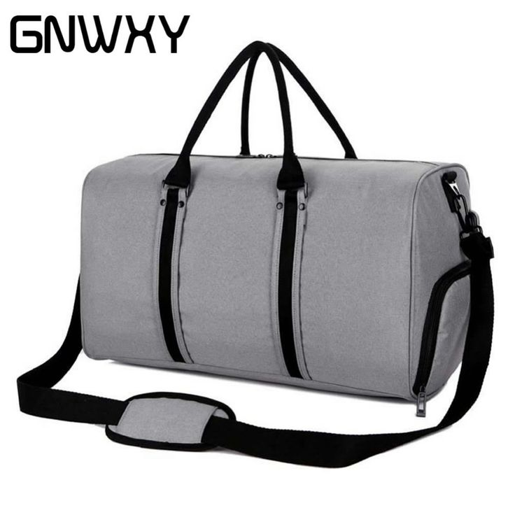 GNWXY Men Travel Bag Large Capacity Hand Luggage Shoulder Bag With USB Charging And Independent Shoes Storage Design Weekend Bag
