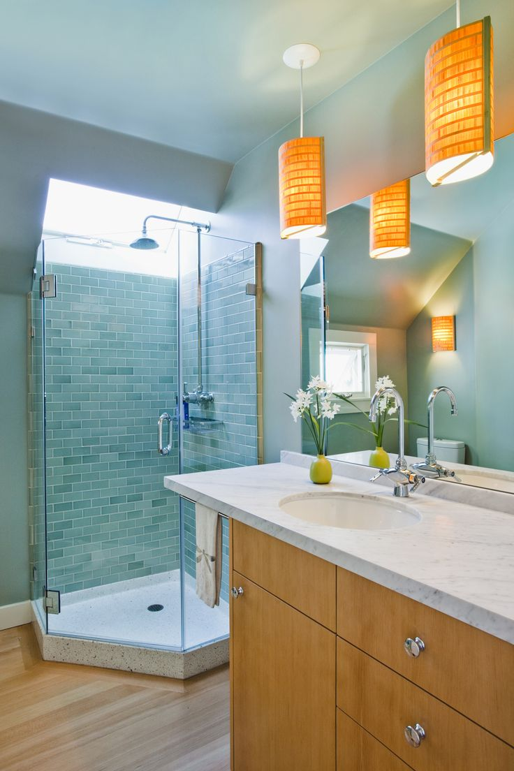 38 best bathroom tile images on Pinterest   Bathroom, Bathrooms and ...