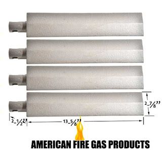 Grillpartszone- Grill Parts Store Canada - Get BBQ Parts,Grill Parts Canada: Burner for Blaze | Replacement 4 Pack Cast Iron Bu...