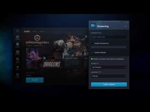 Introducing Blizzard Streaming on Facebook! - YouTube