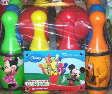 Amazon.com: Disney Mickey Mouse Clubhouse Bowling Set: Toys & Games