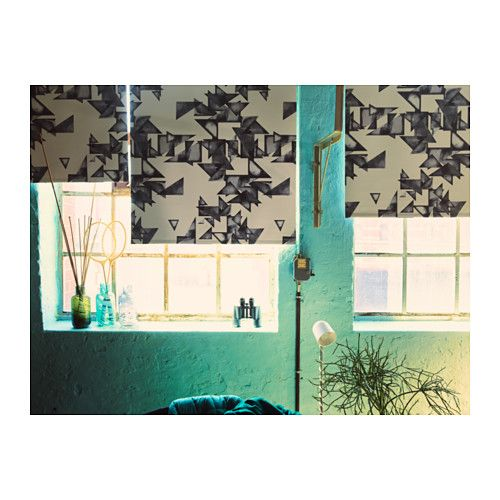 IKEA PS 2017 Block-out roller blind IKEA The room darkening blind has a special coating and does not let any light through.