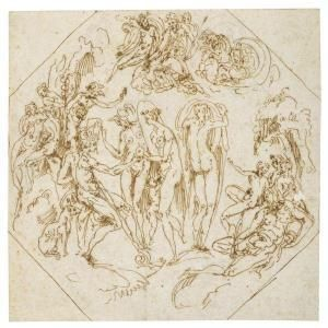 Fra Guglielmo Della Porta - The Judgement Of Paris