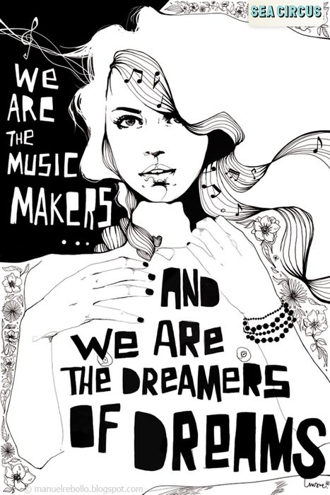 I like this.: Music Quotes For Kids, Art Addiction, Chocolates Factories, Illustrations Music, Art Ideas, Kids Movie, Music Maker, Music Art Journals, Dreams Quotes