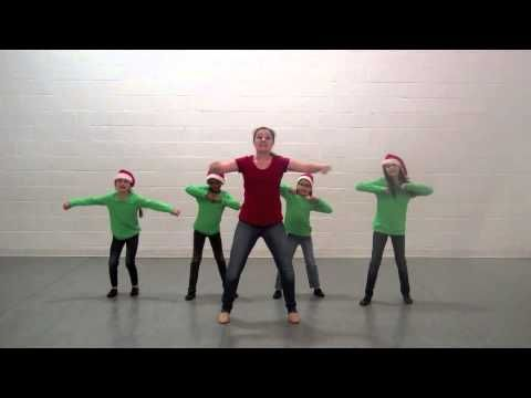 The Sounds Of Santa's Workshop - Choreography Video From MusicK8.com - YouTube