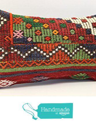 Handmade kilim pillow cover 12x20 inch (30x50 cm) Armchair Pillow Lumbar Kilim pillow cover Home Decor Throw Pillow cover Kilim Cushion Cover from Kilimwarehouse https://www.amazon.com/dp/B073FNBS4D/ref=hnd_sw_r_pi_dp_H.cvzbS0EJ61P #handmadeatamazon