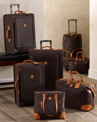 """Olive """"Life"""" Luggage by Bric\'s at Horchow."""