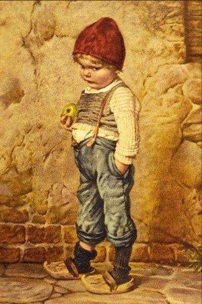 """Hansel"" ~ by Artist Hermann Kaulbach (1846 – 1909,German)"