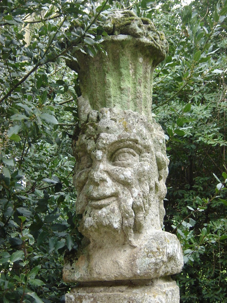Bomarzo A Decorative Faun 39 S Head Bomarzo Monster Park Viterbo Pinterest Gardens