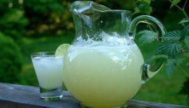 Quick and easy limonada, lemonade or limeade