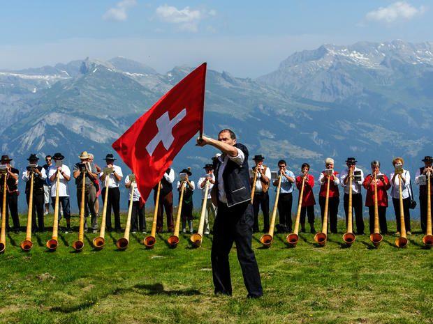 flags switzerland