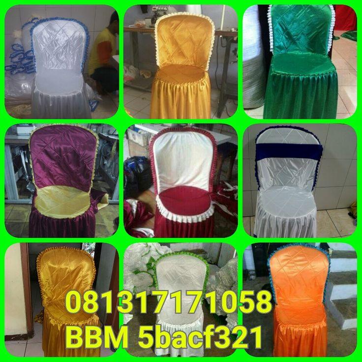 www.penjahitgroup.com  HP 081317171058,BBM 5bacf321. Menjual dan perikanan sarung kursi plastik berbagai model dan tife.