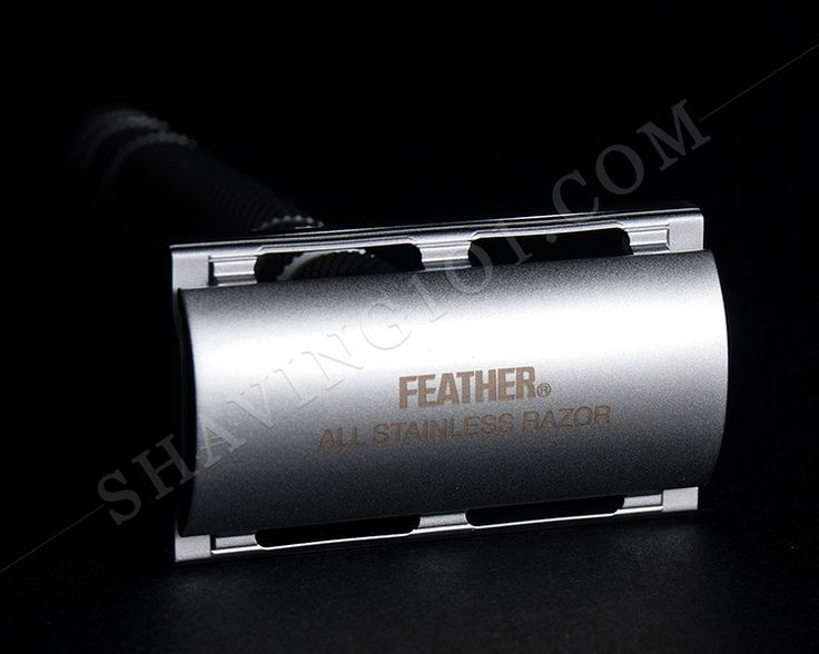 Feather All Stainless DE Razor
