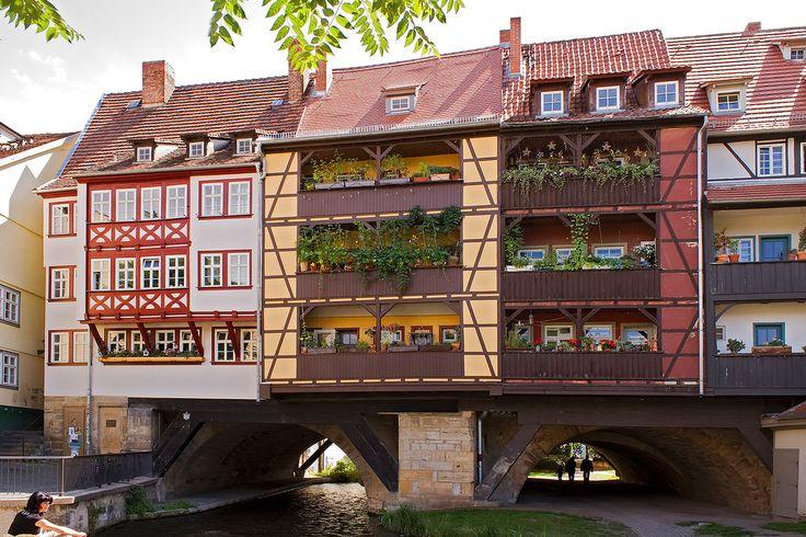 Krämerbrücke  Erfurt (Thüringen)