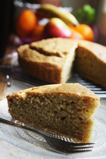 Garden & Vegan Diary - Gâteau au yaourt vegan