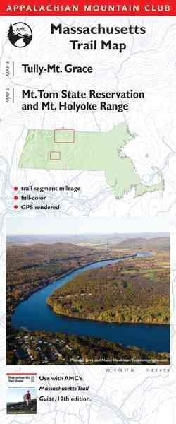 Appalachian Mountain Club Massachusetts Trail Map New England Trail North And Tully Trail Mt