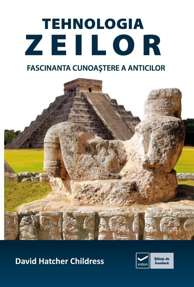 """Cu subtitlul Fascinanta cunoaştere a anticilor de David Hatcher Childress, """"Tehnologia zeilor"""" este o carte apărută la Editura Vidia, Bucureşti 2012, şi îl are ca şi consultant ştiinţific pe reputa…"""