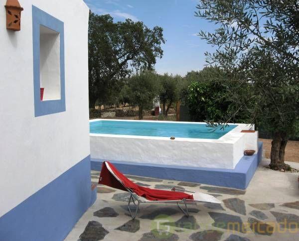 Ferias no alentejo - piscina privada em Evora