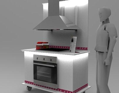 "Echa un vistazo a mi proyecto @Behance: ""Bompani Floor display"" https://www.behance.net/gallery/23721327/Bompani-Floor-display"