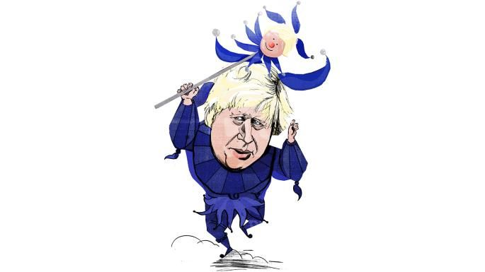 Boris Johnson: Torment of the jester | News Review | The Times & The Sunday Times