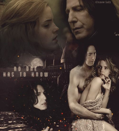 197 best severus snape and hermione images on pinterest - Harry potter hermione granger fanfiction ...