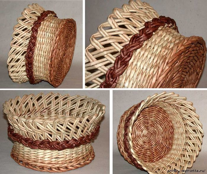 Basket Weaving Process :