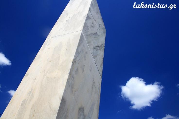 marble heroon - monument in Georgitsi, Lakonia, Greece.