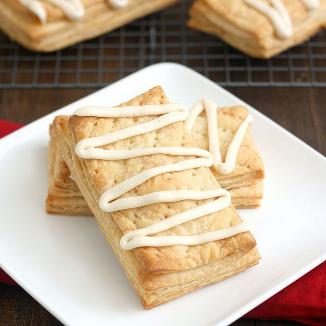Apple Cinnamon Toaster Strudels by Tracey's Culinary Adventures: Apple Cinnamon, Apples Fillings, Apples Cinnamon, Big Apples, Puff Pastries, Cinnamon Apples, Strudel Recipes, Cinnamon Toaster, Homemade Apples