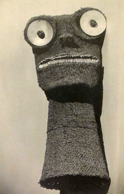 Mask, provenance unknown (1920s) photographed by Paris-based American Modernist artist Man Ray (1890-1976). via mondoblogo