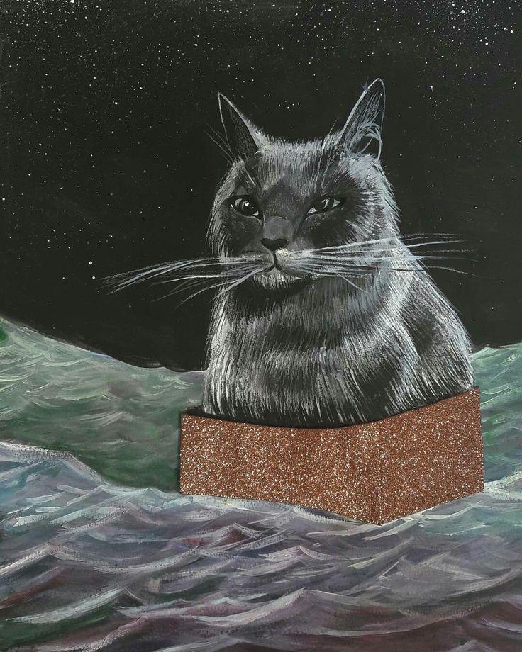 Inspired by my boss ass cat  100% boss and 100%asshole  but i still adore her ♡♡ Insta: cservenyiszonja